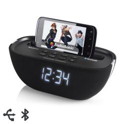 Radio-Despertador Bluetooth AudioSonic CL1462 - Imagen 1