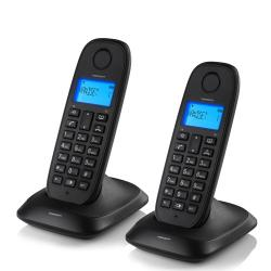 Teléfono Fijo Inalámbrico TopCom TE5732 (pack de 2) - Imagen 1