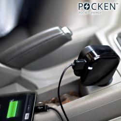 Cargador USB Doble para Coche y Red Eléctrica Pocken