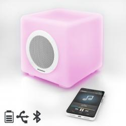 Altavoz Bluetooth con LED AudioSonic SK1539