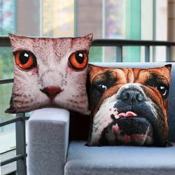 Cojín Perros y Gatos - Imagen 1