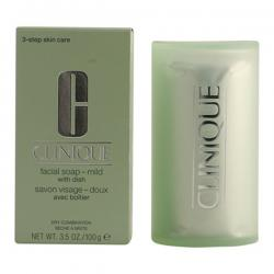 Clinique - FACIAL SOAP mild with dish 100 gr - Imagen 1