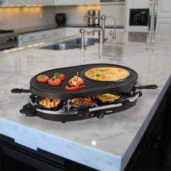 Raclette con Crepera Tristar RA2996
