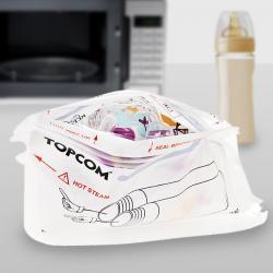 Esterilizador de Biberones para Microondas TopCom - Imagen 1