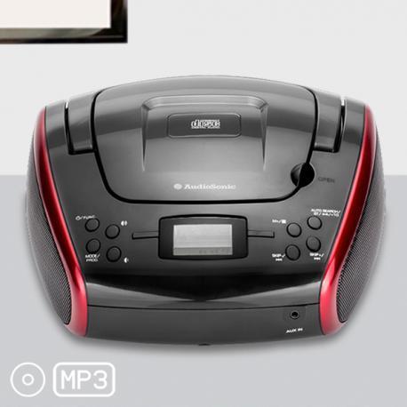 Radio CD MP3 Estéreo AudioSonic CD1597 - Imagen 1