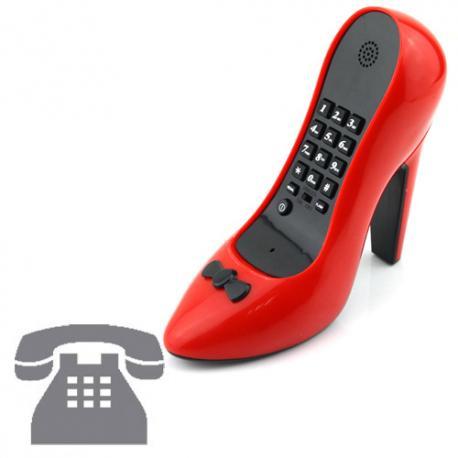 Teléfono Fijo Zapato de Tacón - Imagen 1