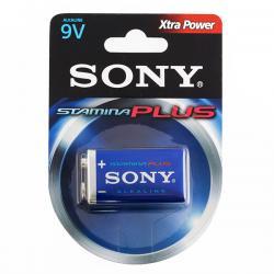Pila Alcalina Plus Sony 6LR61 9 V - Imagen 1