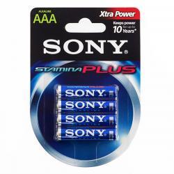 Pilas Alcalinas Plus Sony AAA LR03 1,5 V (pack de 4) - Imagen 1