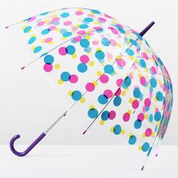 Paraguas Burbuja Multicolor