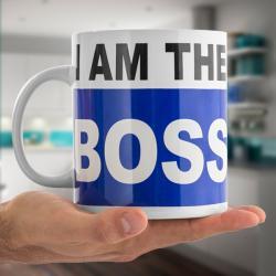 Taza XL I am the Boss