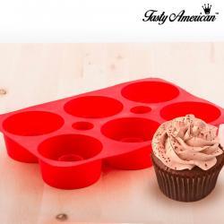 Molde de Silicona para Cupcakes Tasty American