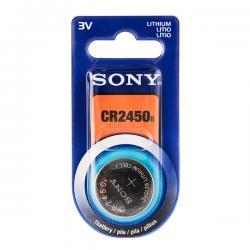 Pila de Botón de Litio Sony CR2450 3V - Imagen 1