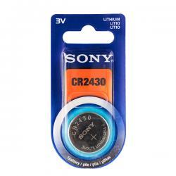 Pila de Botón de Litio Sony CR2430 3V - Imagen 1