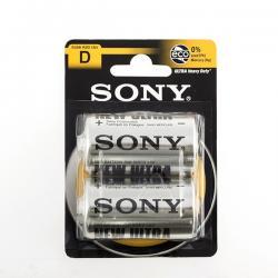 Pilas Salinas Ultra Sony D R20 1,5V (pack de 2) - Imagen 1