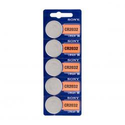 Pilas de Botón de Litio Sony CR2032 3V (pack de 5) - Imagen 1