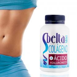 Complemento Alimenticio de Colágeno y Ácido Hialurónico Sbelta Plus (120 comprimidos) - Imagen 1