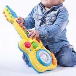 Guitarra Infantil con Luces y Sonido - Imagen 1