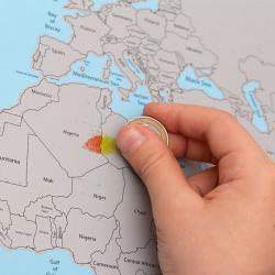 Mapamundi para Rascar - Imagen 1