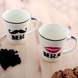 Tazas Mr & Mrs (New Design) - Imagen 1