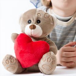 Osito de Peluche con Corazón - Imagen 1