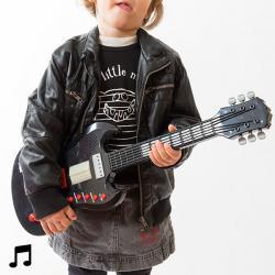 Guitarra Eléctrica de Juguete con Sonido - Imagen 1