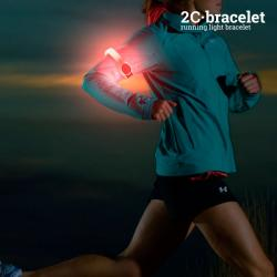 Brazalete Deportivo LED de Seguridad 2C
