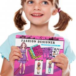 Cuaderno de Moda para Niños