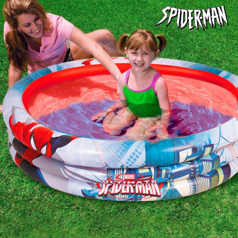 Piscina hinchable spiderman comprar online for Piscinas hinchables online