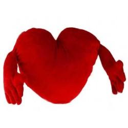 Corazón de Peluche con Brazos (70 cm) - Imagen 1