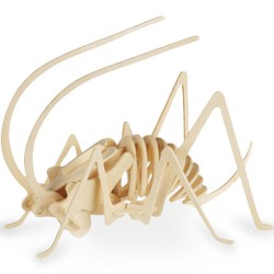 Puzzle de Madera Esqueleto Animales - Imagen 1