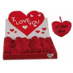 Corazón de Peluche I Love You (10 cm) - Imagen 1
