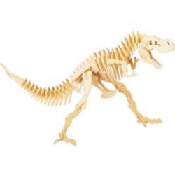 Puzzle de Madera Esqueleto Dinosaurio - Imagen 1
