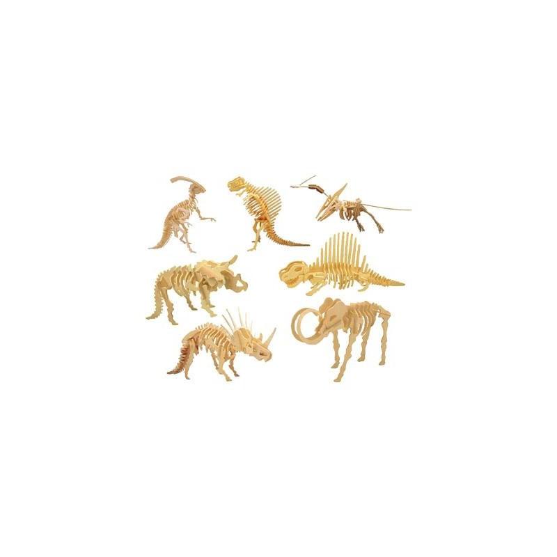 Puzzle de Madera Esqueleto Dinosaurio. Comprar Online