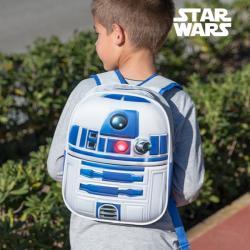 Mochila Escolar 3D Stars Wars R2D2 - Imagen 1