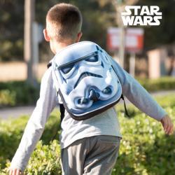 Mochila Escolar 3D Stars Wars Stormtrooper - Imagen 1