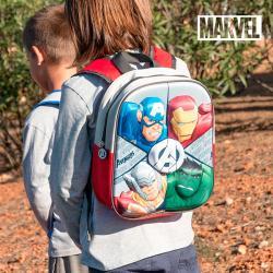 Mochila Escolar 3D Avengers - Imagen 1
