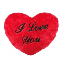Corazón de Peluche XL I Love You (60 cm) - Imagen 1