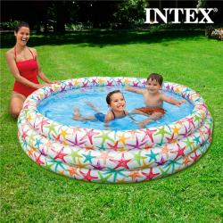 Piscina Hinchable Estrellas de Mar Intex (Ø 168 cm)