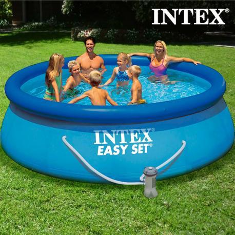 Piscina Circular con Depuradora Intex - Imagen 1