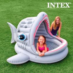 Piscina Hinchable Gran Tiburón Intex