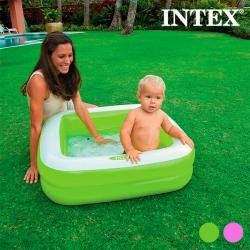Piscina Hinchable para Niños Cuadrado Intex