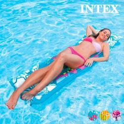 Colchoneta Hinchable Flores Intex - Imagen 1