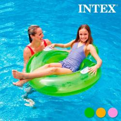 Rueda Hinchable con Respaldo Intex