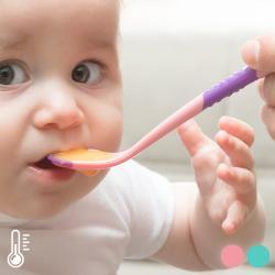 Cucharas para Bebés con Sensor de Calor (pack de 2)