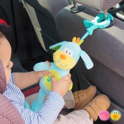 Peluche con Sonido y Pinza para Bebés