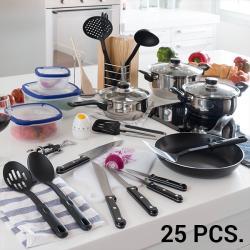 Set de Accesorios de Cocina  (25 piezas)