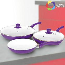 Sartenes Ceramic Chef Pan (5 piezas) - Imagen 1
