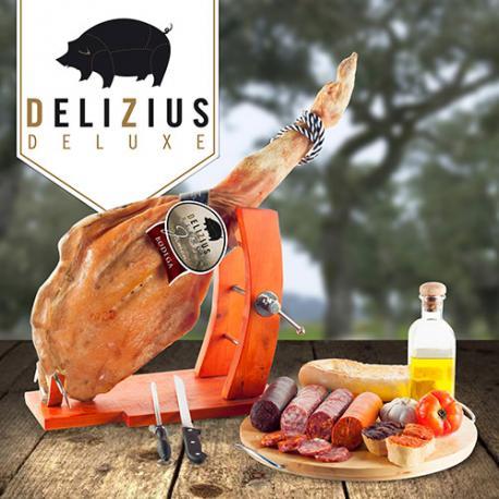 Jamón Curado Bodega Delizius Deluxe - Imagen 1