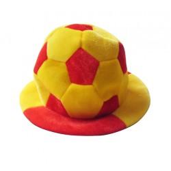Gorro Balón de Fútbol Bandera de España