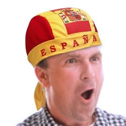 Gorro Pañuelo Bandera de España